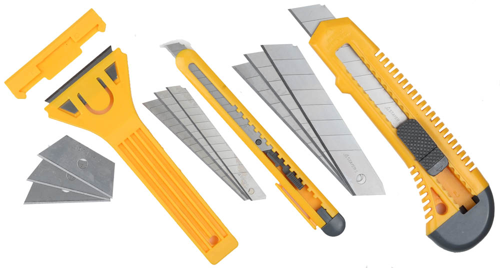 Набор STAYER Ножи и скребки