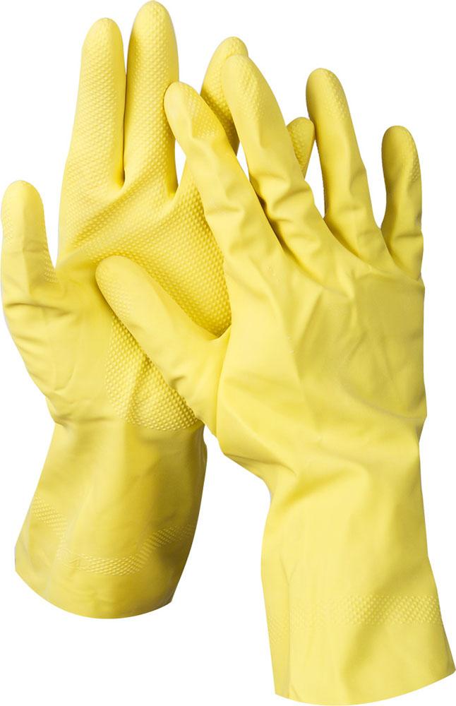 DEXX перчатки  латексные хозяйственно-бытовые, размер S.