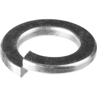 Шайба пружинная DIN 127, 14 мм, 8 шт, оцинкованная, ЗУБР