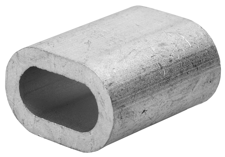 Зажим троса DIN 3093 алюминиевый, 12мм, 10 шт, ЗУБР
