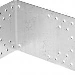 Уголок крепежный асимметричный, 90х70х140 х 2мм, 20шт, ЗУБР