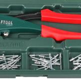 KRAFTOOL X-5F заклепочник с функцией FIX (удержание заклепки) в кейсе
