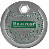 Измеритель зазора свечи KRAFTOOL с градуировкой, 0,4-2,6мм