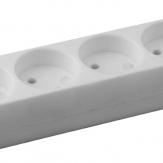 Колодка DEXX для удлинителя, 5 гнезд, макс мощность 3500Вт