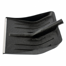 Лопата для уборки снега пластиковая, 405 х 420 мм, без черенка, Sparta